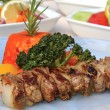 Shish kebab meat — Stock Photo