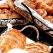 Stock Photo: Croissants, savory pastries