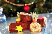 Gâteau de Noël — Photo