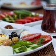 Stock Photo: Rich and delicious Turkish breakfast