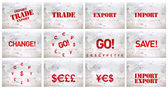 International import export and trade — Stock Photo