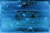 St. Valentine's Day dinner menu — Foto Stock