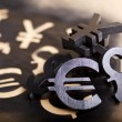 International black currency units — Stock Photo #39856181