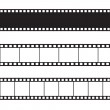 Vettoriale Stock : Vector film strip illustration