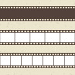 Vector film strip illustration — Vector de stock #36833363