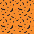 Seamless pattern for Halloween — Stock Vector