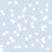 Snowflakes winter background — Stock Vector