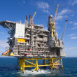 Stock Photo: Offshore platform
