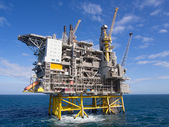Offshore platform — Stock Photo