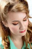 年轻女子肖像 — 图库照片