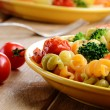 Pasta fusilli salad — Stock Photo #19818279