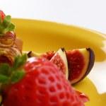 Strawberry crepes — Stock Photo #22701895