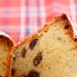 Raisin cake — Stock Photo