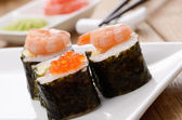 Mixed sushi set — Stock Photo