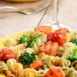 Pasta fusilli salad — Stock Photo #25174679