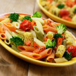 Stock Photo: Pasta salad
