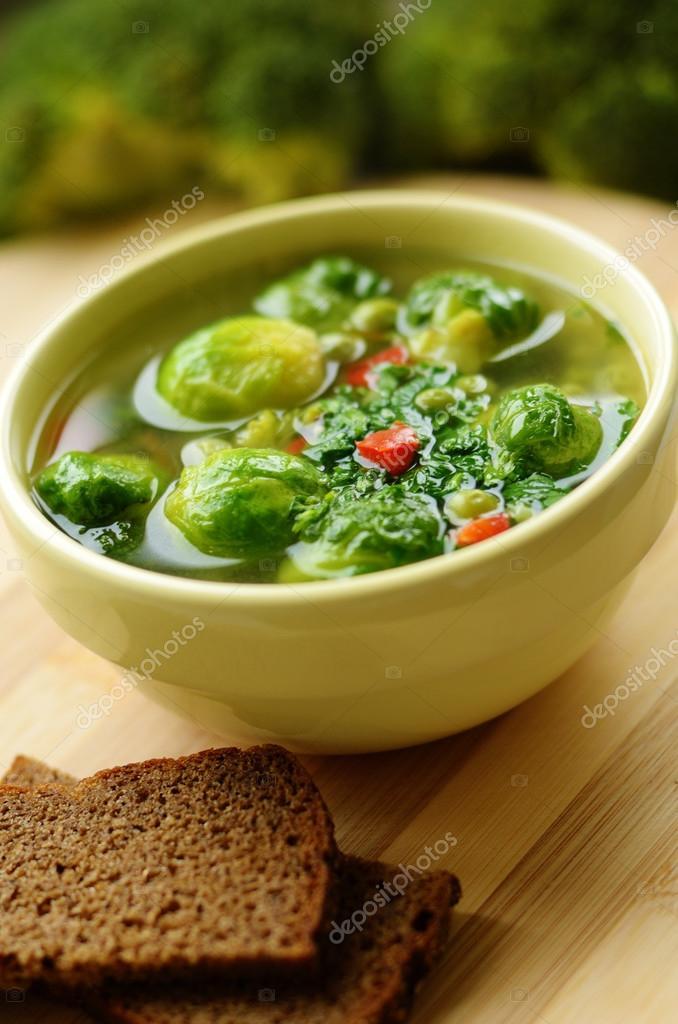супы с брюссельской капустой шалости