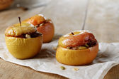 Homemade oven baked apples — Stock Photo