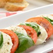 Salad caprese — Stock Photo #38004525