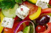 Homemade greek salad — 图库照片