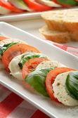 サラダ カプレーゼ — ストック写真