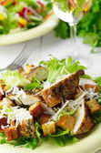 Caesar chicken salad — Stock Photo