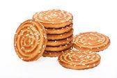 Pila de galletas cookies — Foto de Stock