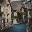 Stock Photo: Street in Geneva, Switzerland