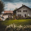 House in Geneva, Switzerland — Stock Photo