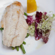 Fish on a plate — Stock Photo