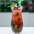 Berry mojito — Stock Photo