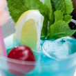 Blue Lagoon cocktail — Foto Stock