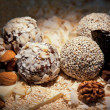 Sweets balls — Stock Photo