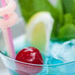 Blue Lagoon cocktail — Stock Photo