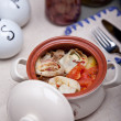 Appetizer in ceramic pot — Stock Photo #36368879
