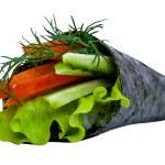 Vegetarian Sushi roll — Stock Photo #48659441