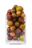 Gooseberry in a glass — Stock Photo