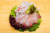 Fresh fish sashimi — Stock Photo