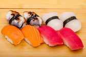 Sushi roll set — Stockfoto