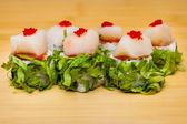 Sushi roll set — Stock Photo