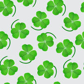 Clover leaf pattern — Vector de stock