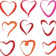 Hearts collection — Stock Vector #14828357