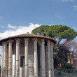 Temple of Hercules Victor — Stock Photo