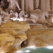Trevi fountain details — Stock Photo