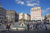 Piazza Barberini — Stock Photo