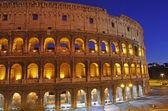 Night Scene at Colosseum — Stock Photo