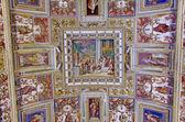Ceiling details in Vatican Museum — Stock Photo