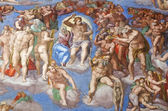 The Last Judgment by Michelangelo — Stock Photo