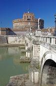 Bridge and Castle of Saint Angelo — Stock Photo