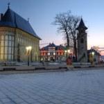 Piatra Neamt, Royal Court — Stock Photo #25829207